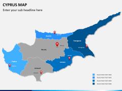 Cyprus map PPT slide 9