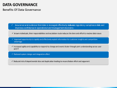 Data governance PPT slide 22