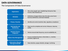 Data governance PPT slide 26