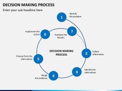 Decision making PPT slide 1