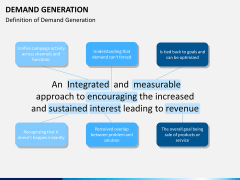 Demand generation PPT slide 3