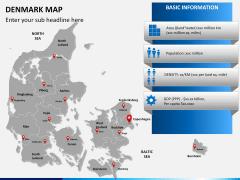 Denmark map PPT slide 16