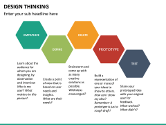 Design thinking PPT slide 34