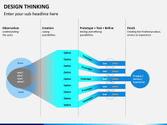 Design thinking PPT slide 13