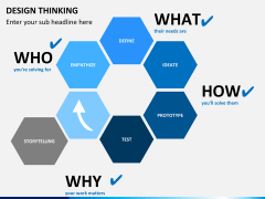 Design thinking PPT slide 17