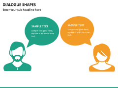Dialogue shapes PPT slide 9