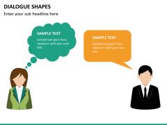 Dialogue shapes PPT slide 10