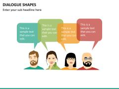 Dialogue shapes PPT slide 11