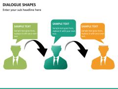 Dialogue shapes PPT slide 12