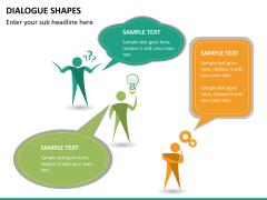 Dialogue shapes PPT slide 13