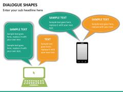 Dialogue shapes PPT slide 14