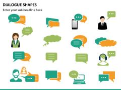 Dialogue shapes PPT slide 15
