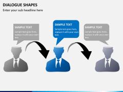 Dialogue shapes PPT slide 4