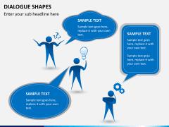 Dialogue shapes PPT slide 5