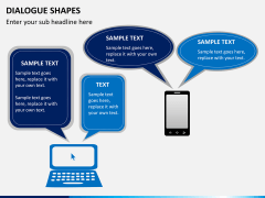 Dialogue shapes PPT slide 6