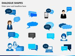 Dialogue shapes PPT slide 7