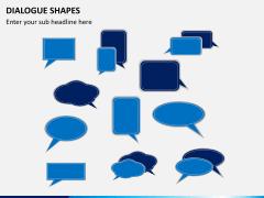 Dialogue shapes PPT slide 8