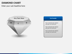 Diamond chart PPT slide 4