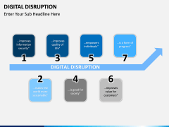 Digital Disruption PPT slide 1
