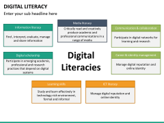 Digital literacy PPT slide 19