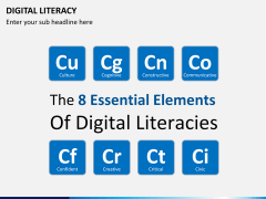 Digital literacy PPT slide 2