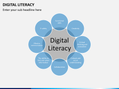 Digital literacy PPT slide 3