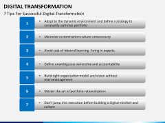 Digital Transformation PPT slide 20