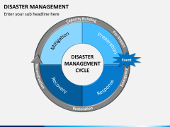 Disaster management PPT slide 1