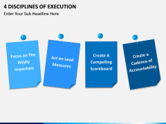 4 Disciplines of Execution PPT slide 3