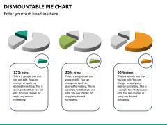 Dismountable pie chart PPT slide 16