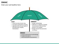 DMAIC PPT slide 22