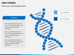 DNA string PPT slide 1