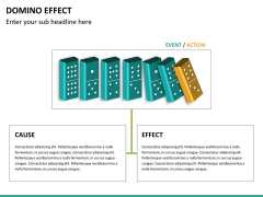 Domino effect PPT slide 14