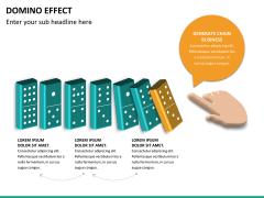 Domino effect PPT slide 15