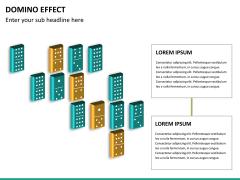 Domino effect PPT slide 16
