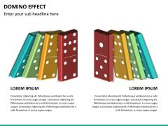 Domino effect PPT slide 17