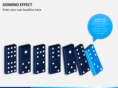 Domino effect PPT slide 1