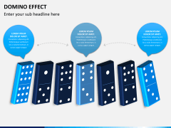 Domino effect PPT slide 2