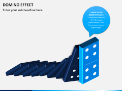Domino effect PPT slide 3