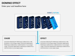 Domino effect PPT slide 4