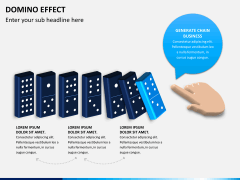 Domino effect PPT slide 5