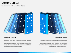 Domino effect PPT slide 7