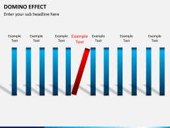Domino effect PPT slide 8