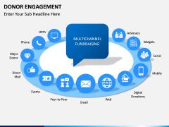 Donor engagement PPT slide 2