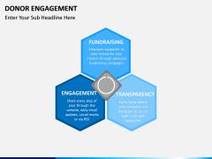 Donor engagement PPT slide 5