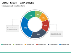 Donut chart PPT slide 11
