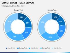 Donut chart PPT slide 6