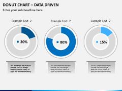 Donut chart PPT slide 9