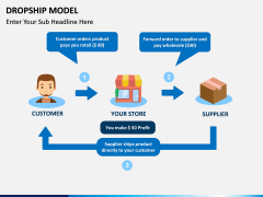 Dropship Model PPT slide 1