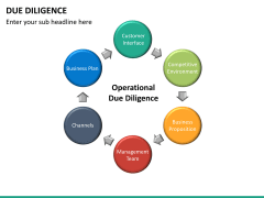 Due diligence PPT slide 21